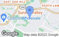 Map of Sunset Valley, TX