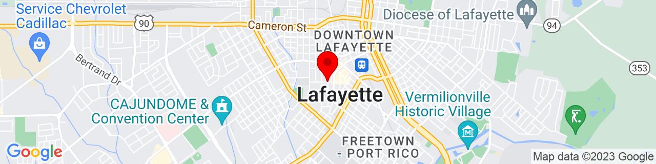Google Map of 30.2240897, -92.0198427