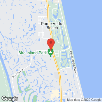 Map of Fifth Third Mortgage - Lee Simanoff at 500 A1a North, Ponte Vedra Beach, FL 32082