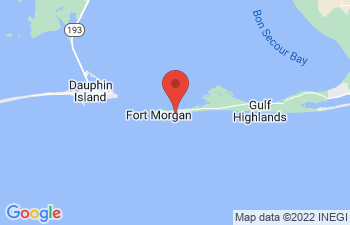 Map of Fort Morgan