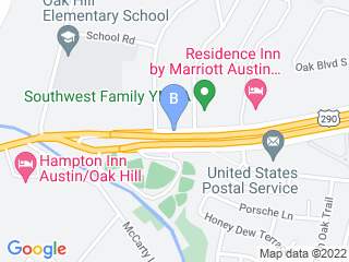 Map of Classi Diva Pet Spa Dog Boarding options in Austin | Boarding