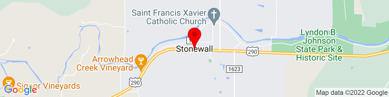 Google Map of 30.2360359, -98.6644769
