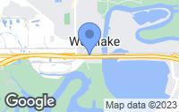 Map of Westlake, LA