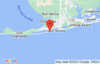 Map of Gulf Shores