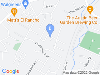 Map of The Smiling Dog Pet Sitters  Dog Walkers Dog Boarding options in Austin | Boarding