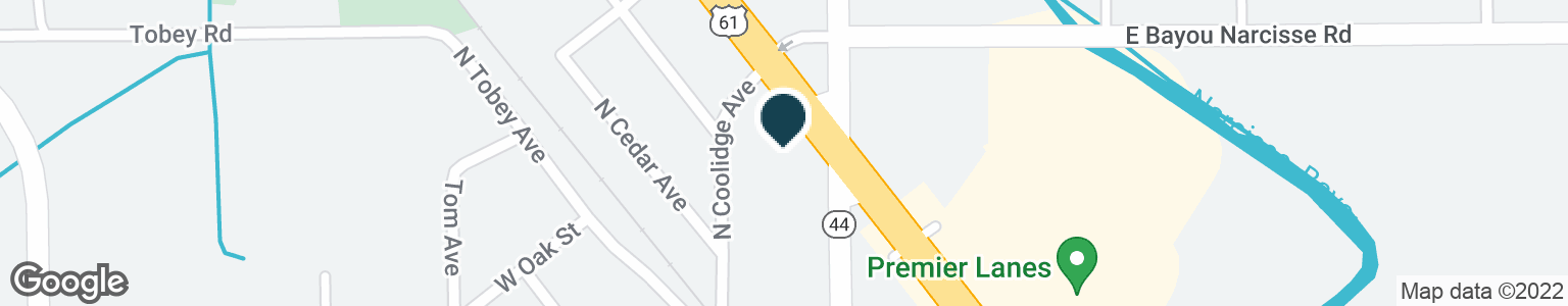 Google Map of1607 N AIRLINE HWY