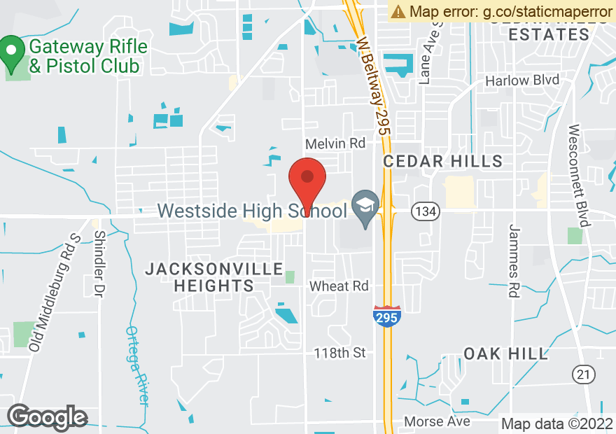 Google Map of 7546 103RD ST