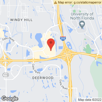 Map of Aerie at 4790 River City Drive, Jacksonville, FL 32246-7413