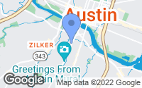 Map of Austin, TX