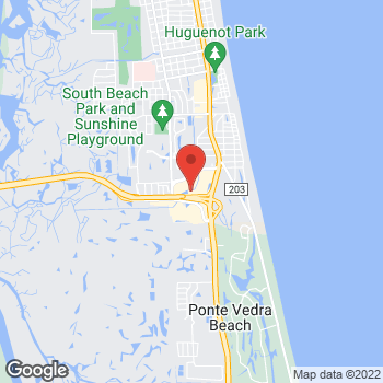 Map of Staples at 4016 South Third Street, Jacksonville Beach, FL 32250