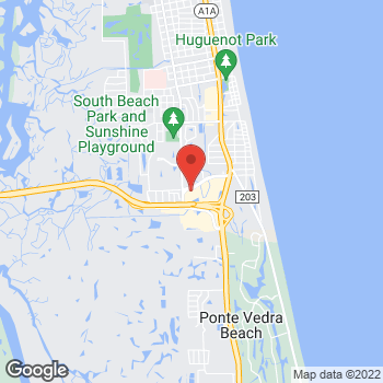 Map of Hair Cuttery - Closed at 3988 3rd St S, Jacksonville Beach, FL 32250