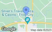 Map of Rayne, LA