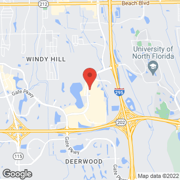 Map of Hair Cuttery at 10261 River Marsh Dr, Jacksonville, FL 32246