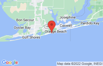 Map of Orange Beach