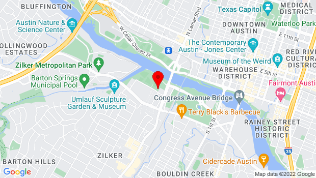 Google Map of 1510 Toomey Road, Austin, Texas 78704