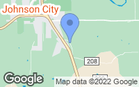 Map of Johnson City, TX