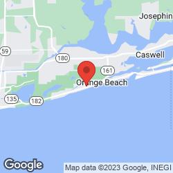 Pleasure Island Properties on the map