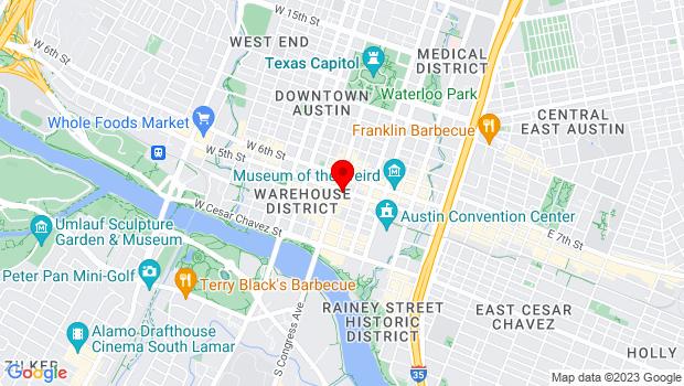 Google Map of 419 Congress Avenue, Austin, TX 78701