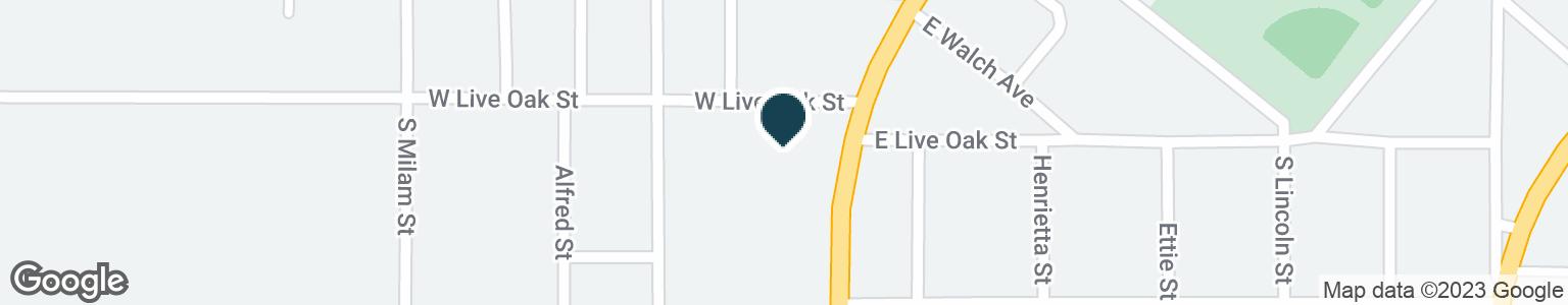 Google Map of704 S ADAMS ST