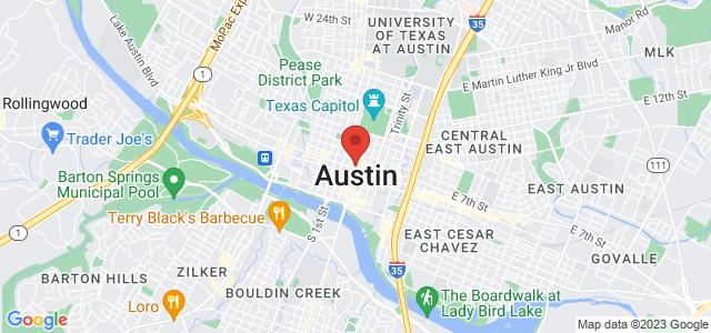 Austin Florist Map