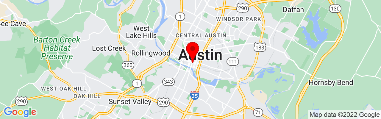 Google Map of The Detailing Syndicate - Austin, TX, 700 Lavaca St #1400, Austin, TX 78701, UNITED STATES, 30.270288888889,-97.745227222222
