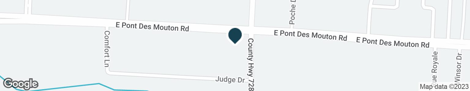 Google Map of3747 MOSS ST
