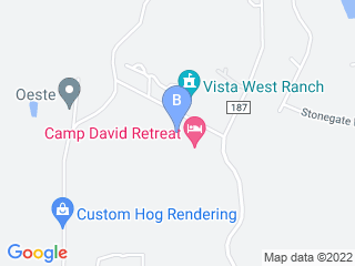 Map of Rover Inn Boarding Kennel Dog Boarding options in Dripping Springs | Boarding