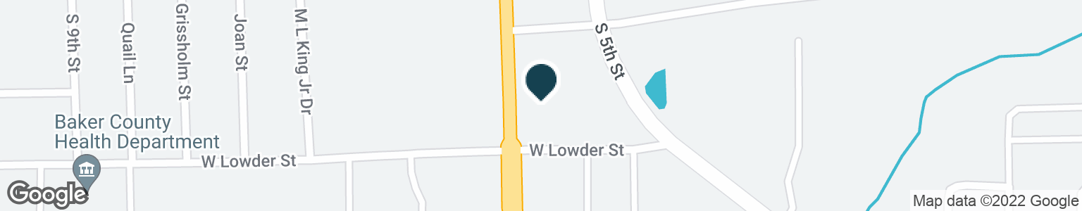 Google Map of657 S 6TH ST