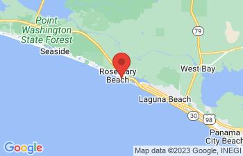 Map of Rosemary Beach