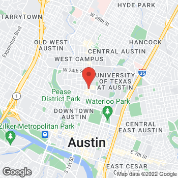 Map of Taco Bell Cantina at 2000 Guadalupe Street, Austin, TX 78705