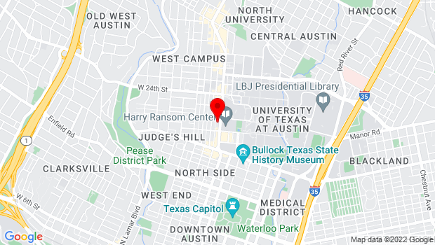 Google Map of 2130 Guadalupe, Austin, TX 78705