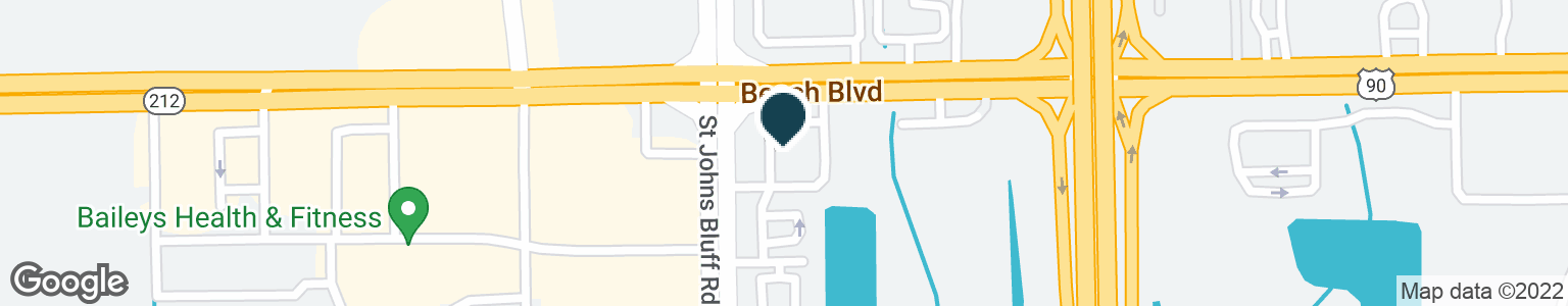 Google Map of11430 BEACH BLVD
