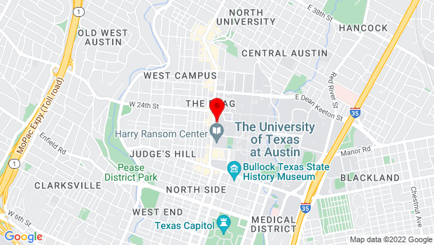 Google Map of 2247 Guadalupe, Austin, TX 78734
