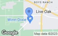 Map of Live Oak, FL
