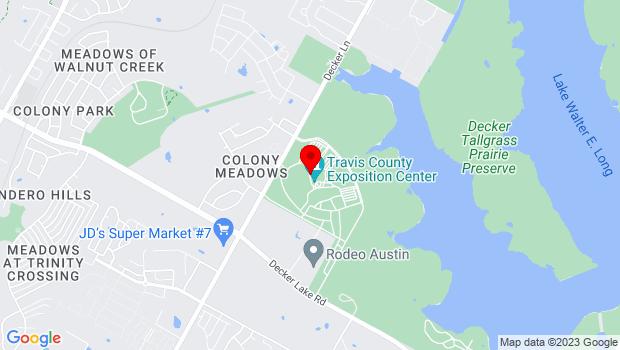 Google Map of 7311 Decker Lane, Austin, TX 78724