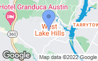 Map of West Lake Hills, TX