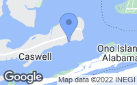 Map of Orange Beach, AL
