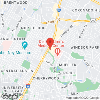 Map of Bed Bath & Beyond at 1201 Barbara Jordan Boulevard, Austin, TX 78723