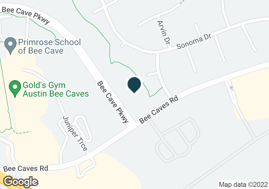 Google Map of12200 BEE CAVE PKWY