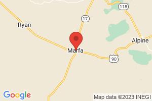 Map of Marfa