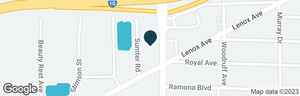 Google Map of654 CASSAT AVE