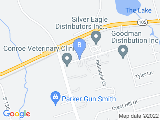 Map of Dogtown Texas Dog Boarding options in Conroe | Boarding