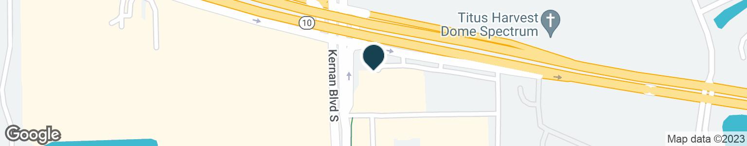 Google Map of12230 ATLANTIC BLVD