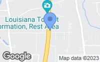 Map of Slidell, LA