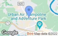 Map of Bee Cave, TX