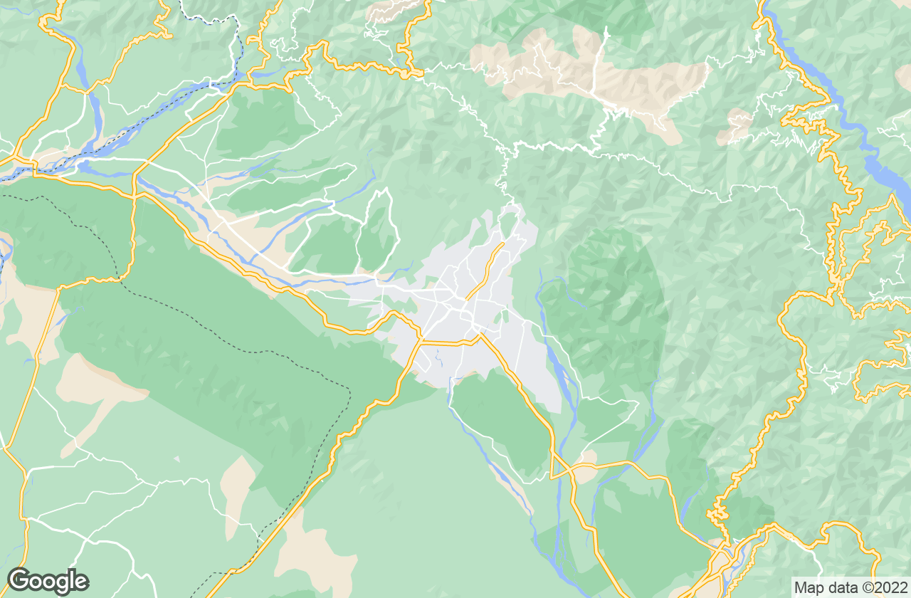 Google Map of Dehradun