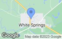 Map of White Springs, FL