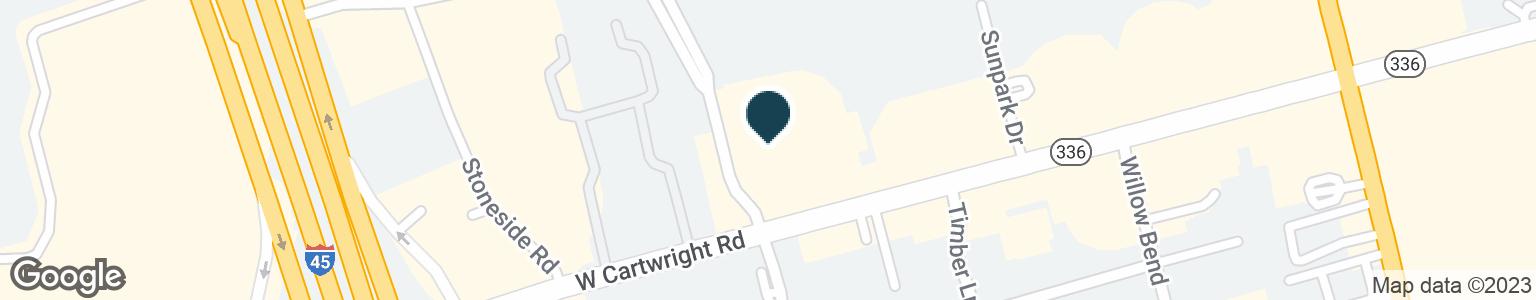 Google Map of1120 N LOOP 336 W