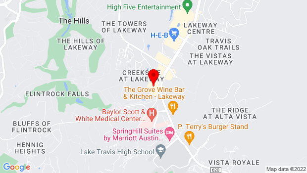 Google Map of 2300 Lohmans Spur, Austin, Tx 78734