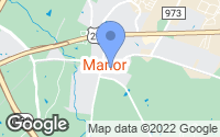 Map of Manor, TX